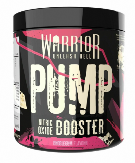 Warrior Pump Pre-Workout 225g; 30 Servings; Strong Muscle Pump; All Flavours